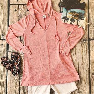 Favorite Knit Hooded Coverup Agnes & Dora XXXL